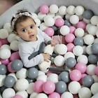 50/100pcs Soft Plastic Ocean Ball Funny Baby Kids Swim Pit Pool Playing Toy Gift