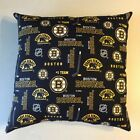 INCREDIBLE 15 x 15 NHL HOCKEY BOSTON BRUINS COMPLETE PILLOWS - 2 STYLES