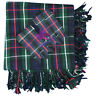 More images of CC Kilt Fly Plaid Mackenzie Tartan 48X48 / Fly Plaid Mackenzie Tartan + Flashes