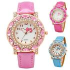Fashion Hello Kitty Wrist Watch Girl Teens Kids Cartoon Quartz Analog Watches image