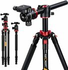 KF-TM2534T Professional Digital Camera Tripod Travel Monopod fr DSLR Canon Nikon <br/> Free Shipping√ 90 ° Center Columns Insert√ 48 to 169cm