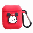 Cartoon Silicone Disney Cover fr Apple AirPods Box Earphone KT Cat Case Keychain