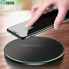 Wireless Charger For iPhone 8 X XR XS / Samsung S9 S8 Note 8 9 S7 Max QC3.0 10W
