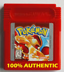 🔥 New Battery AUTHENTIC Pokemon Red Version Can Save Nintendo Game Boy Color