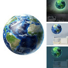 Earth Planet Wall Sticker Decal Glow In The Dark Diy Kids Room Home Decor New