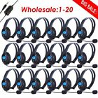 5x/10x/20x Wired Gaming Headset Stereo Headphone earphone w/ Mic For Sony LOT VP