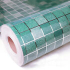 Mosaic Vinyl Self Adhesive Contact Paper/Wallpaper Roll Kitchen Decor Stickers