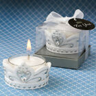 18-96 Elegant White Crown Candle - Fairy Tale Princess Wedding Party Favors