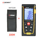 Portable LCD Display Handheld Digital Laser Distance Meter 2Bubble Levels S0B4
