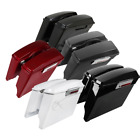 "5"" Extended Hard Saddlebags Saddle Bags w/ Lids For Harley Touring Models 93-13 $228.31 USD on eBay"
