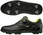 Mizuno Japan Golf Shoes Lite Style 003 Boa Wide Soft Boots 51GM1960 Black