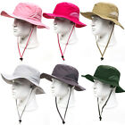 Men Women Boonie Bucket Hat Fishing Military Hunt Safari Hiking Outdoor New Caps