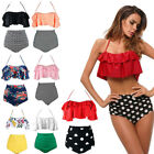 Women Bikini Sets Padded Bra Tops Thong Bottoms Swimwear Swimsuit Set Summer USA