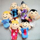 6-12Pcs Animal Finger Puppet Cartoon Doll Kids Baby Educational Toy Gift