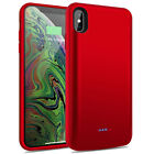 For iPhone XS Max/XR/X External Battery Charging Case Power Bank Backup Charger