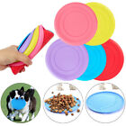 Внешний вид - Pet Dog Toy Exercise Frisbee Toy Training Tool Silicone Puppy Saucer Flying Disc