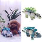 Squeaky Dog Toys for Small Dogs Stegosaurus Plush Puppy Dog Toys