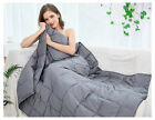 Weighted Blanket for Adults Men Women, 48x72 / 60x80, Dark Gray, 15 / 20 / 25lbs image