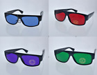 Внешний вид - Black Locs Sunglasses 6 Different Lens Mad Doggers Cholo Lowrider OG Homie Gafas