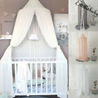 Kids Baby Bedding Round Dome Bed Canopy Netting Bedcover Mosquito Net Curtain image