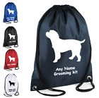 Cockerpoo Dog Grooming Kit Personalised Drawstring Bag with there name