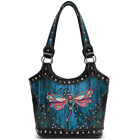 Western Style Butterfly Concealed Carry Purse Women Country Handbag Shoulder Bag