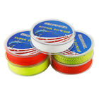 2Pcs Fly Fishing Backing Line 20LB 0.4mm 100M/109Yards 8 Strands Braided Line