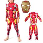 Simile Ironman Infinity Costume Carnevale Dress up Cosplay Iron man IRON05