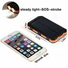Waterproof 600000mAh Dual USB Solar Battery Charger Solar Charging Power Bank