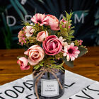 Artificial Fake Concise Silk Flower Bouquet Wedding Home Decor Party Accessory