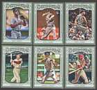 2013 Topps Gypsy Queen (1-350 w/ SP) Baseball Set ** Pick Your Team **