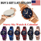 Luxury Women Starry Sky Watch Magnet Strap Buckle Star Watch Lover Gift NEW image