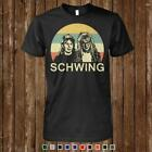 Wayne's World Schwing Vintage Retro Funny Meme Men T-Shirt Black Cotton S-6XL