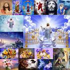 5D DIY Full Drill Diamond Painting Easter Theme Cross Embroidery Kit Home Decor