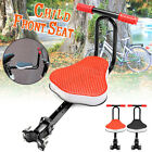 Child Bike Seat Front Mount Toddler With Thickened Soft Padded Seat Foldable US