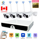 JOOAN Wireless Security camera System Outdoor 1080P HD 4CH WiFi NVR CCTV Home