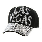 Womens Las Vegas Studded Fashion Baseball Cap
