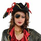 Ladies Pirate Wench Accessories Fancy Dress Costume Lot