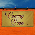 Vinyl Banner Sign Coming Soon! #7 Business Outdoor Marketing Advertising Green