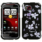 Two Piece Hard Snap on Design Protective Cover Case for HTC Rezound ADR6425
