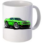 1971 1972 Ford Mach 1 Mustang Coffee Mug 11oz 15 oz Ceramic NEW image