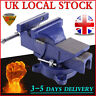 More images of 4 / 5 / 6 Blue Heavy Work Bench Vice Vise Engineer Jaw Swivel Base Workshop Clamp