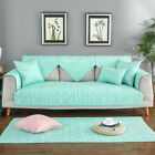 Non-slip Sofa Cover Furniture Chair Couch Slipcovers Cotton Fabric Protector New