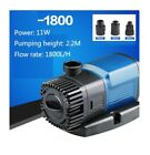 Fish Aquarium Submersible Circulating Filter Water Pump Flow Rate Fountain Quiet