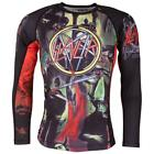 Tatami Slayer Reign In Blood Rash Guard Compression Top No Gi Jiu Jitsu MMA