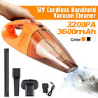 3200Pa 12V Car Vacuum Cleaner CORDLESS Handheld Portable Wet Dry Dirt Dust Clean