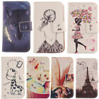 Used, For Acer/Blu Phone - PU Leather Cute Flip Wallet Case Protective Skin Cover Etui for sale  Shipping to South Africa