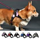 Dog Strap Harnesses Large Non Pull Adjustable Reflective Breathable with Handle
