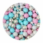 Sprinkletti Scrumptious Sprinkles Edible Confetti & Pearls for Cake Decorating