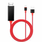 HDMI Mirroring Cable Phone to TV HDTV Adapter For iPhone Xs Max/6s/7/8 Plus/iPad
